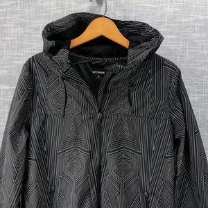 49b6e8d33eb6f IVY PARK Jackets & Coats - Ivy Park Reflective Print Wrap Back Jacket Medium